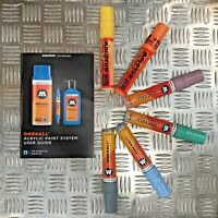 Molotow One4All 627 HS Acrylic Markers - Pastel Set - 6 Markers