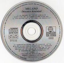 "MECANO ""DESCANSO DOMINICAL"" RARE SPANISH FIRST EDITION CD / CANO - ANA TORROJA"