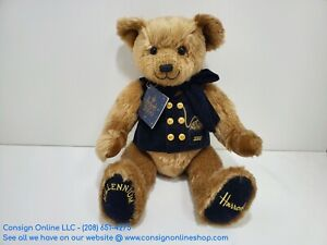 """Harrods 2000 Millenium 17""""  Jointed Plush Teddy Bear with Tags L177"""