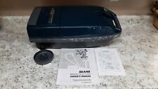 New listing Sears Kenmore 116 Canister Vacuum Cleaner Whispertone Owners Manual 12 Amps