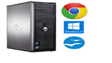 Dell Gaming Tower Computer 3.0 Ghz 4GB 250GB Graphic Card Win 10