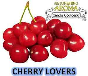 CHERRY LOVERS COLLECTION Soy Wax Clamshell Break Away tart melt wickless candle