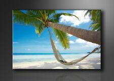 Visario Bild auf Leinwand Markenware Strand 120x80cm XXL 5039>