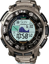 Casio Protrek Titanium Solar Powered Radio Controlled Watch