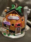 Haunted Halloween Pumpkin Grocery Tea Light Figurine Ghosts