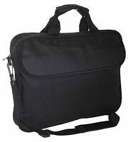 "15.6"" Widescreen Padded Laptop Bag Notebook Macbook Carry Case Shoulder Strap"