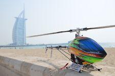 Align T-Rex 800e RTF Dubai platino Versión Helicóptero RC Futaba T16sz