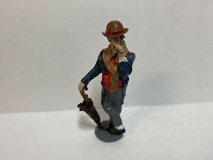 Just Plain Folk  G Scale Train Figure # 1064  Old Fashion Man With Cigar   NEW