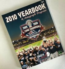 Somerset Patriots Minor League Baseball 2010 Yearbook & Autograph Program