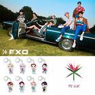 KPOP EXO Keychain Acrylic Cartoon Keyrings CHANYEOL D.O. XIUMIN KAI XIUMIN SEHUN