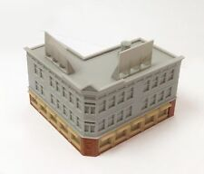 Outland Models Train Railway Layout City Classic Corner Shop (Long) Z Scale