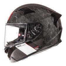 MT KRE SV Snake Carbon Fibre Motorcycle Helmet Motorbike Crash Lid Scooter Race