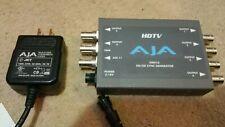 AJA GEN10 HD / SD Sync Generator + Power Supply (Genlock, TriSync, Blackburst #b