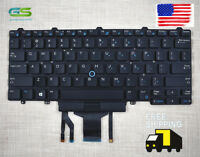 Keyboard For Dell Latitude E5450 E5470 Backlit Pointer & Buttons D19TR From US