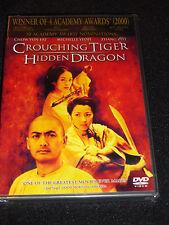 Crouching Tiger Hidden Dragon Dvd (Brand New)