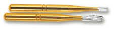 SS White 13086 FG #2R Great White Gold Metal Cutter Carbide Burs 100/Pk