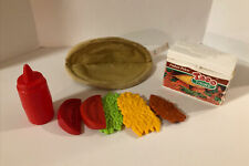 New ListingVintage Fisher Price Play Food Fun with Food Complete Taco Fixin'S 1987-88