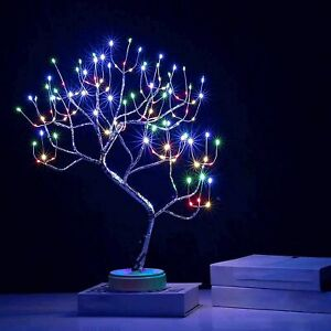 Bonsai Twig Tree Lights 108 LED Light Up Birch Christmas Tree Table Lamp Decor