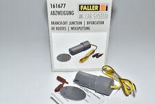 Faller Car System 161677 Abzweigung elektrisch NEU in OVP Abzweig
