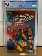 AMAZING SPIDER-MAN RENEW YOUR VOWS #13 CGC 9.8 LENTICULAR 252 HOMAGE COVER