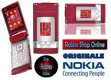 Nokia N76 RED (Ohne Simlock) 3G 4BAND 2,0MP MP3 Radio Original Finland SEHR GUT