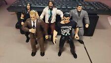 WWE WWF WRESTLING JAKKS ACTION FIGURE LOT OF 5 MCMAHON UNDERTAKER MANKIND LOT #1