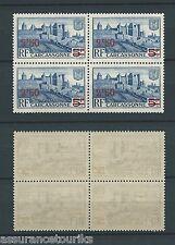 FRANCE - 1941 YT 490 bloc de 4 - TIMBRES NEUFS** LUXE