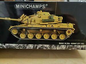 Minichamps 350041100 1:35 USMC Patton M60A1 ERA Kuwait City 1991- New MIB Rare