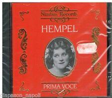 Frieda Hempel: Prima Voce - Verdi, Donizetti, Rossini, Mozart, Meyerbeer - CD