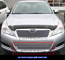 Fits 2010-2012 Subaru Legacy Bumper Stainless Steel Mesh Grille Insert