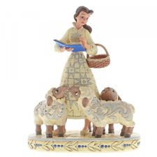More details for disney traditions 6002338 belle with sheep bookish beauty figurine - new & boxed