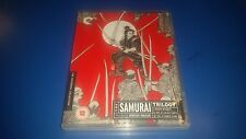 UK Criterion: THE SAMURAI TRILOGY Blu-ray (FREE UK P&P)