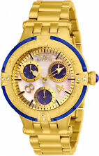 Invicta Women's Subaqua Chrono 100m Gold Tone Stainless Steel Watch 26143