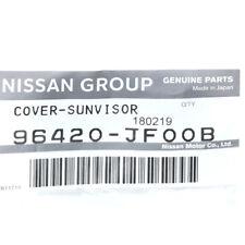 2015-2018 Nissan GT-R Black Sunvisor Shade Cover OEM NEW Genuine 96420-JF00B