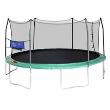 16 FT Enclosed Bouncer Outdoor Play Accessory Toss Game Yard All Weather Jumper