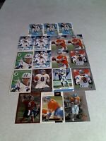 *****Jeff Lewis*****  Lot of 36 cards.....14 DIFFERENT / Football