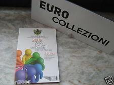 SAN MARINO 2008 2 EURO ANNO EUROPEO INTERCULTURA SAN MARIN САН-МАРИНО