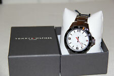 Tommy Hilfiger Stainless Steel Luxury Mens Watch 1790838 -NWT