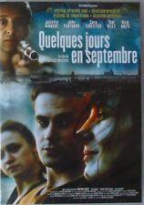 DVD QUELQUES JOURS EN SEPTEMBRE - Juliette BINOCHE / Sara FORESTIER - NEUF