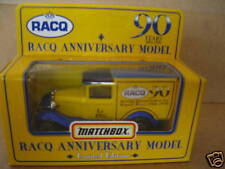 MATCHBOX SUPERFAST SIZE RACQ 90 YEARS ANNIVERSAY  MODEL  A FORD LTD EDITION