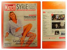 Claire Chazal,l'amitié,mon seul devoir de vacances-Paris Match N° 3354-09/2013