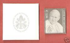 VATICANO 2003 Francobollo Argento  25° Ann. Pontificato Papa Ggiovanni Paolo II