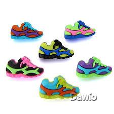 Sneakers, Turnschuhe, bunt, witzig, Patchwork, Scrap, Knopf, Knöpfe, 6 Stück