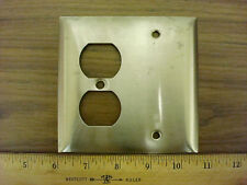 Hubbell S138 Stainless Steel Cover Plate 4 1/2 X 4 1/2 inches*Nos*