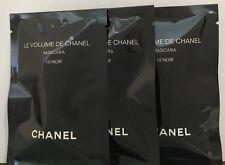 3x Chanel Le Volume De Chanel Mascara 10 Noir Black 1ml/0.03oz each