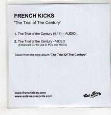 (GU458) French Kicks, The Trial Of The Century - DJ CD