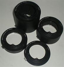 CAMERA LENS EXTENTION TUBES ROLLEI 7.8 15 30 50 MM VSL SL35 ADAPT 2 EOS M4/3 NEX