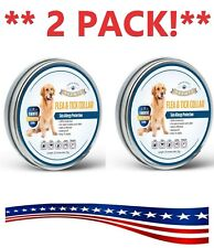 2 Pack Nkemte Large Dog Flea And Tick Collar For Large Dogs 8 Months Protection