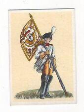 8/684 SAMMELBILD STANDARTE LEIBSTANDARTE EINES BAYR. REITER-REGIMENTS VOR 1743
