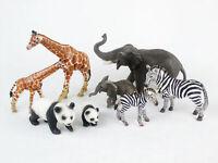 Lot of SCHLEICH Zoo Animals Babies ZEBRA Giraffe ELEPHANT Panda